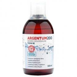 Srebro Koloidalne (500 Ml) Tonik Argentum200 (50 ppm)