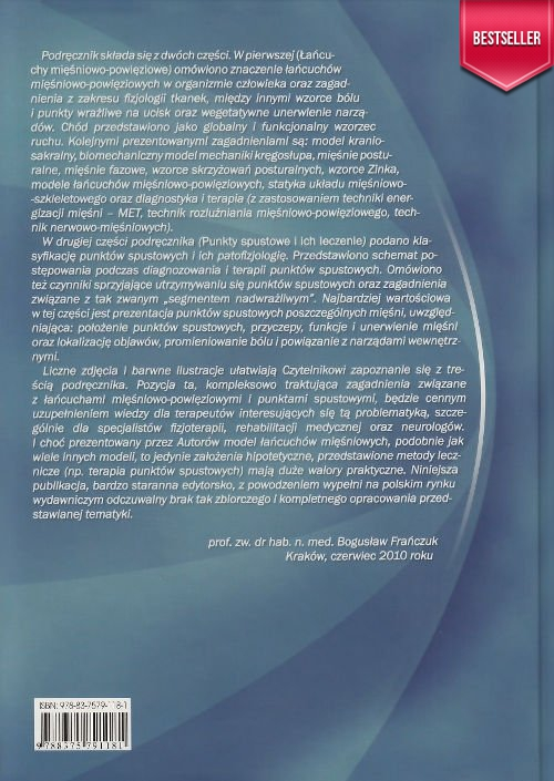 Punkty spustowe i łańcuchy mięśniowo-powięziowe w osteopatii i terapii manualnej