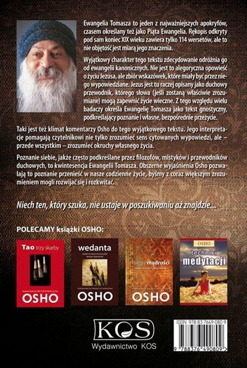 Ewangelia Tomasza Komentarze OSHO