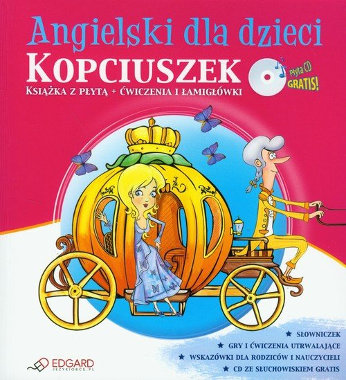 Angielski dla dzieci Kopciuszek z płytą CD
