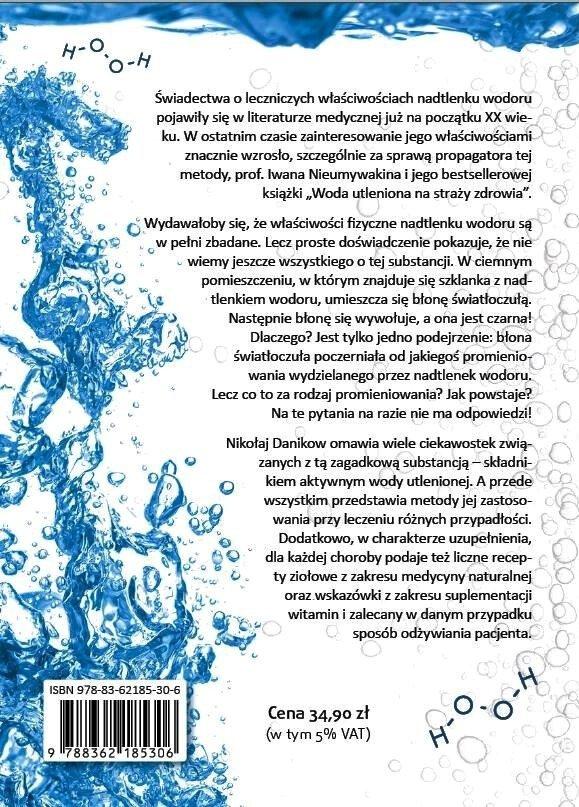 Uzdrawiająca moc wody utlenionej