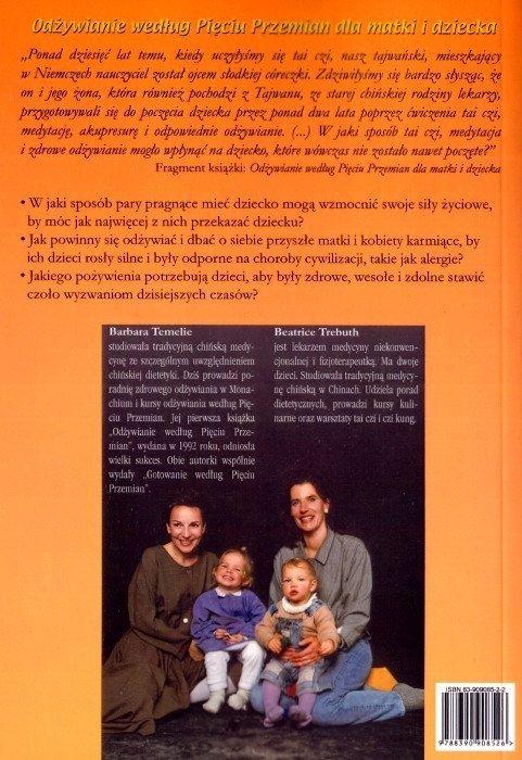 Odżywianie według Pięciu Przemian dla matki i dziecka