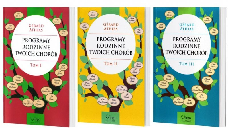 Programy Rodzinne Twoich Chorób tom I, II i III