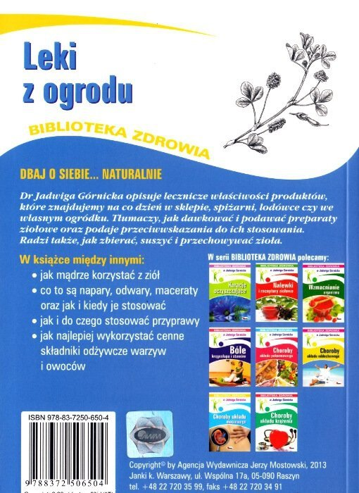 Leki z ogrodu