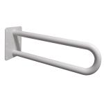 Stützgriff für barrierefreies Bad weiß 60 cm ⌀ 32 mm
