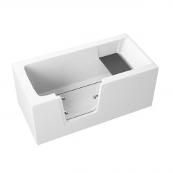 Frontpaneel für VOVO Badewanne 140 cm weiß