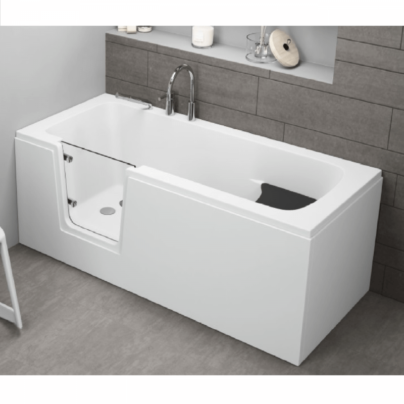 Seitenpaneel für AVO / VOVO Badewanne 180 cm weiß