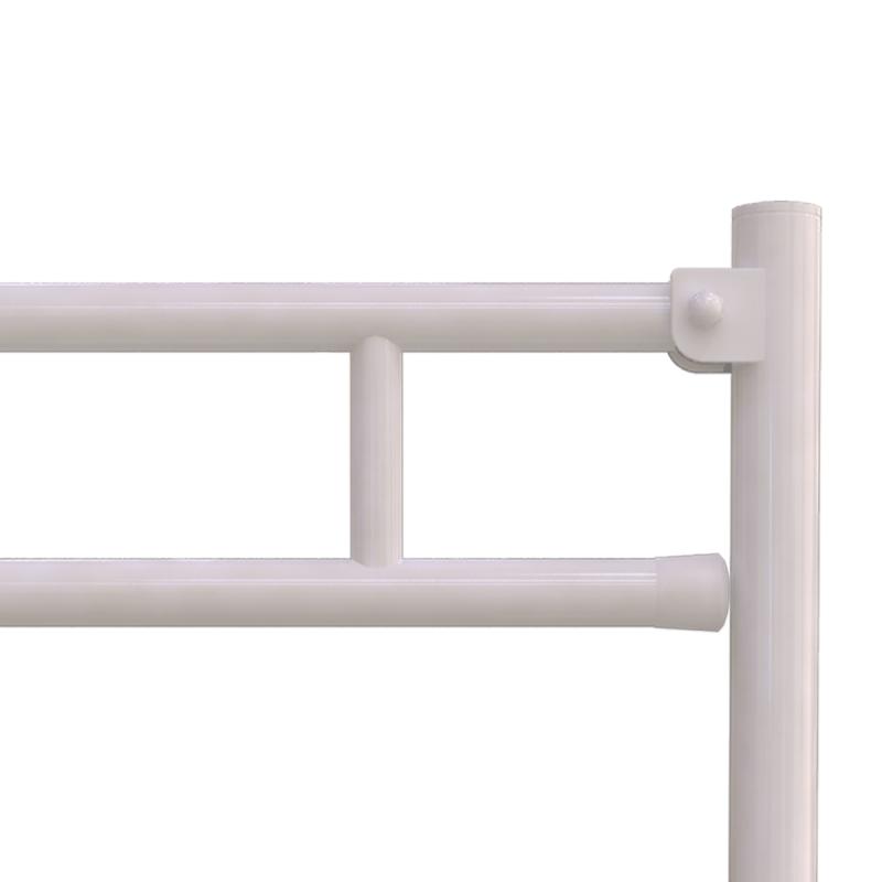 WC - Klappgriff für barrierefreies Bad freistehend weiß 70 cm ⌀ 32 mm