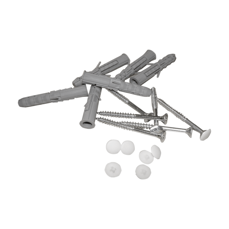 Haltegriff für barrierefreies Bad 20 cm weiß ⌀ 25 mm