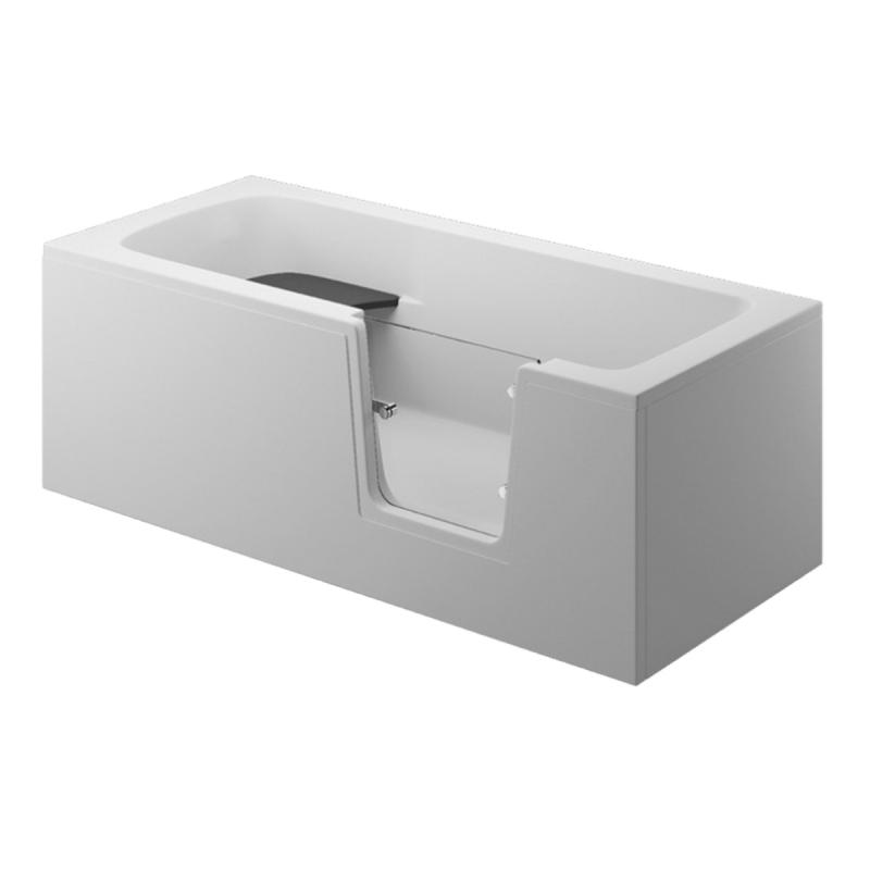 Seitenpaneel für AVO / VOVO Badewanne 160 cm weiß