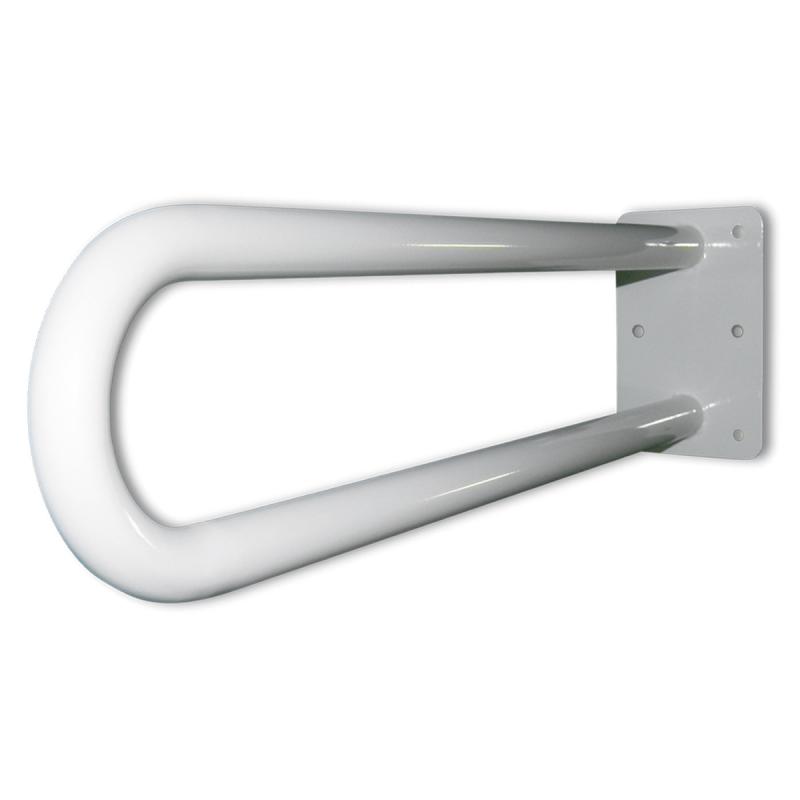Stützgriff für barrierefreies Bad weiß 50 cm ⌀ 32 mm