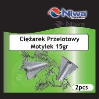 CIĘŻAREK PRZELOTOWY MOTYLEK 15gr (3pz)
