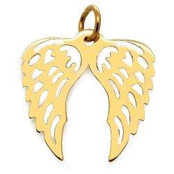 Złota zawieszka 585 skrzydełka