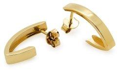 Złote kolczyki 585 sztyft