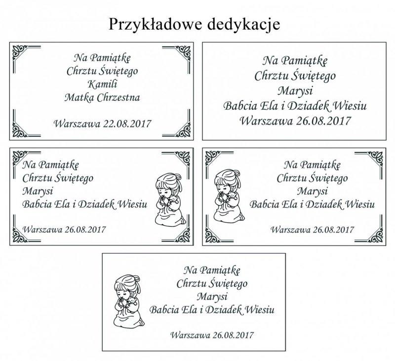 Łyzeczka srebrna cyrkonie SWAROVSKI elements + etui + grawer gratis