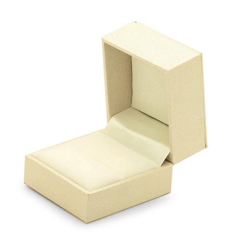 Ceramiczny pierścionek z serduszkiem z cyrkoniami 585 złote serce | pierścionek z zawieszką