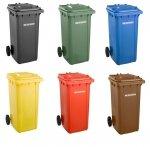 Kosz na śmieci 240l SSI-schaefer (kolory)