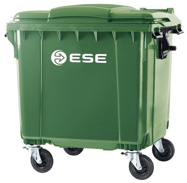 Ogromny Pojemnik na śmieci MGB 1100l - Pojemniki na odpady 1100l HW86