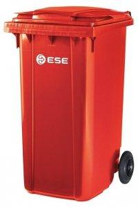Pojemnik na odpady bytowe MGB 240 (czerwony)