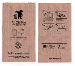 Torebki na Psie odchody ( psiZestaw.pl ) 200 szt. - konfekcjonowane