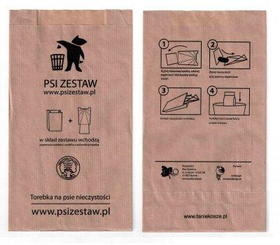 Torebki na Psie odchody ( psiZestaw.pl ) 100 szt. - konfekcjonowane