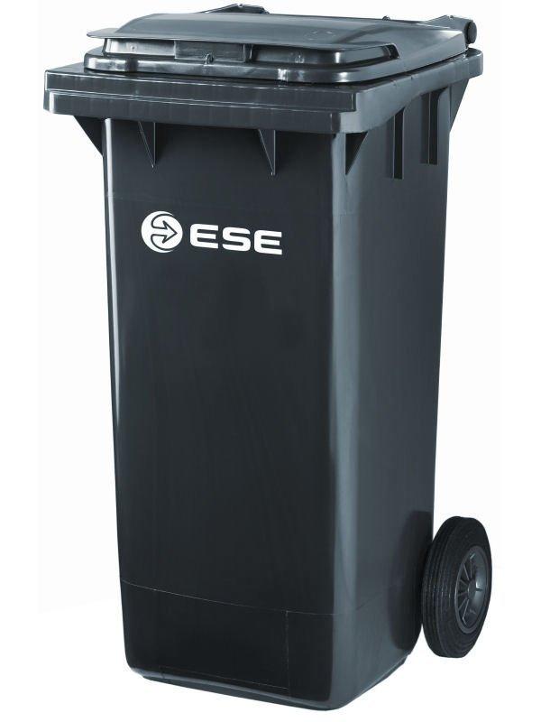 Młodzieńczy Pojemnik na śmieci MGB 120 ESE (czarny) - Pojemniki na odpady 120l LQ93