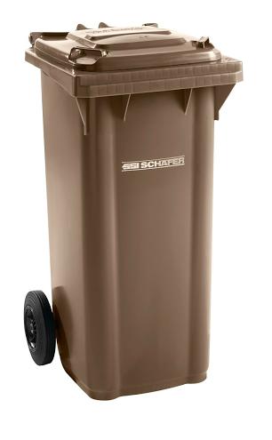 Pojemnik na odpady 120l SSI-Schaefer Żółry