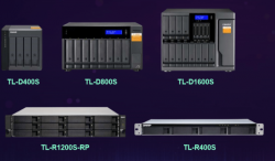 QNAP NAS TL-D400S