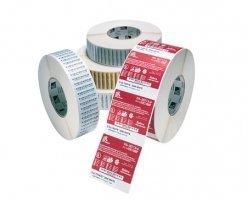 Etykiety termiczne 57x32 słaby klej - 2100szt.