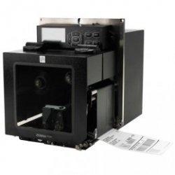 Zebra ZE500-4, 12 punktów / mm (300 dpi) ZPLII, multi-IF, serwer druku (Ethernet) Wersja lewa