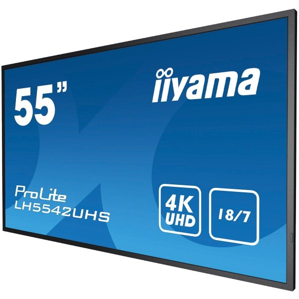 "iiyama ProLite LH5542UHS-B1 55"" Android 4K czarny"