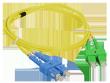 Patch cord SC/APC-SC/UPC duplex SM 2.0m