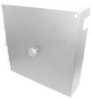 Obudowa stelażu zapasu kabla 40x40cm, kolor biały