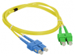 Patch cord SC/APC-SC/UPC duplex SM 1.0m