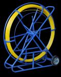 Stalka/ Włókno do przeciągania kabli 9,0mm/200m + Stojak
