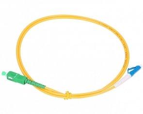 Patch cord SC/APC-LC/UPC simplex SM 1.0m