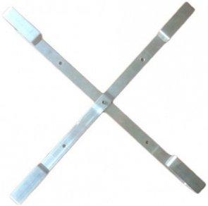 Stelaż zapasu kabla 60x60 cm aluminiowy
