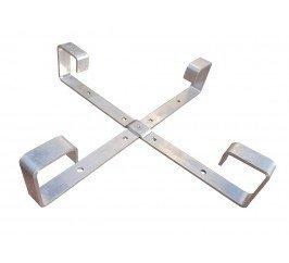 STELAŻ ZAPASU KABLA 450X450X70 aluminiowy