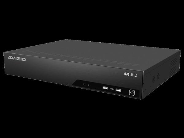 Rejestrator IP 32 kanałowy, obsługujący 4 dyski AVIZIO PROFESSIONAL