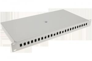 """Panel / Przełącznica 24xSC simplex/24xLC duplex  19"""" 1U"""