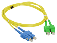 Patch cord SC/APC-SC/UPC duplex SM 2m