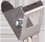 Adapter 1xRJ45 1x keystone na szynę DIN TH-35