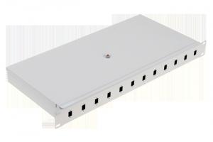 """Panel / Przełącznica 12xSC simplex/12xLC duplex  19"""" 1U"""