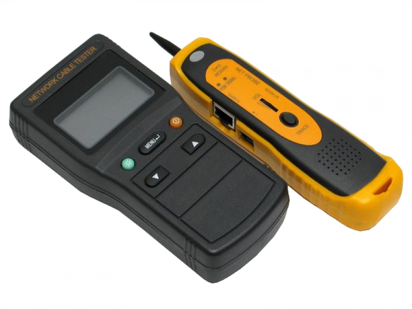 Tester LCD i skaner kabli sieciowych NS-DX