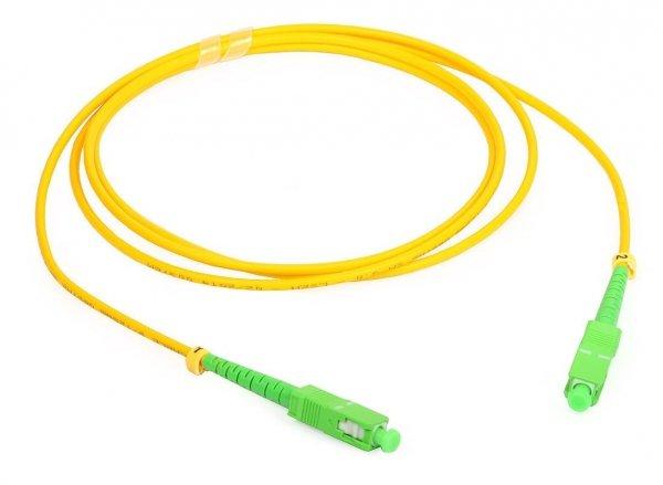 Patch cord SC/APC-SC/APC simplex SM 1m