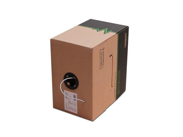 Skrętka U/UTP 4x2 drut kat. 5E PVC Digitus