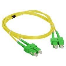 Patch cord SC/APC-SC/APC duplex SM 5m