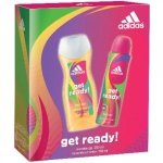 Adidas Get Ready! for Her Deodorant Spray 150 ml + Shower Gel 250 ml
