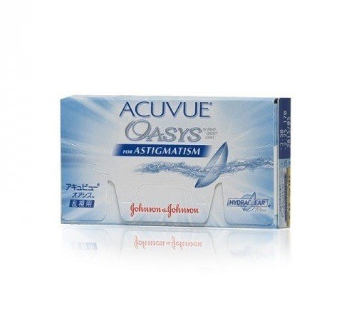 Acuvue Oasys for Astigmatism 1szt. +6,00/-1,25/070