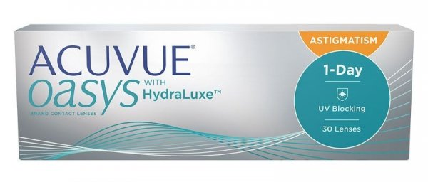 Acuvue Oasys 1 Day for Astigmatism  30szt. -0,50/-1,75/010